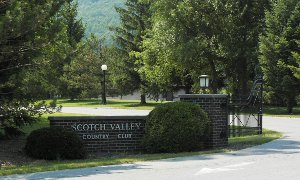 Scotch Valley Country Club entry gate